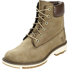 "Timberland Lucia Way WP 6"" Boots Dames, olive nubuck"